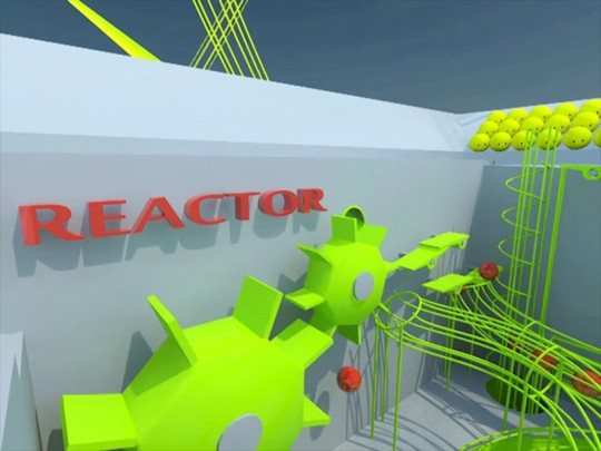visualization_Video_animation_reactor